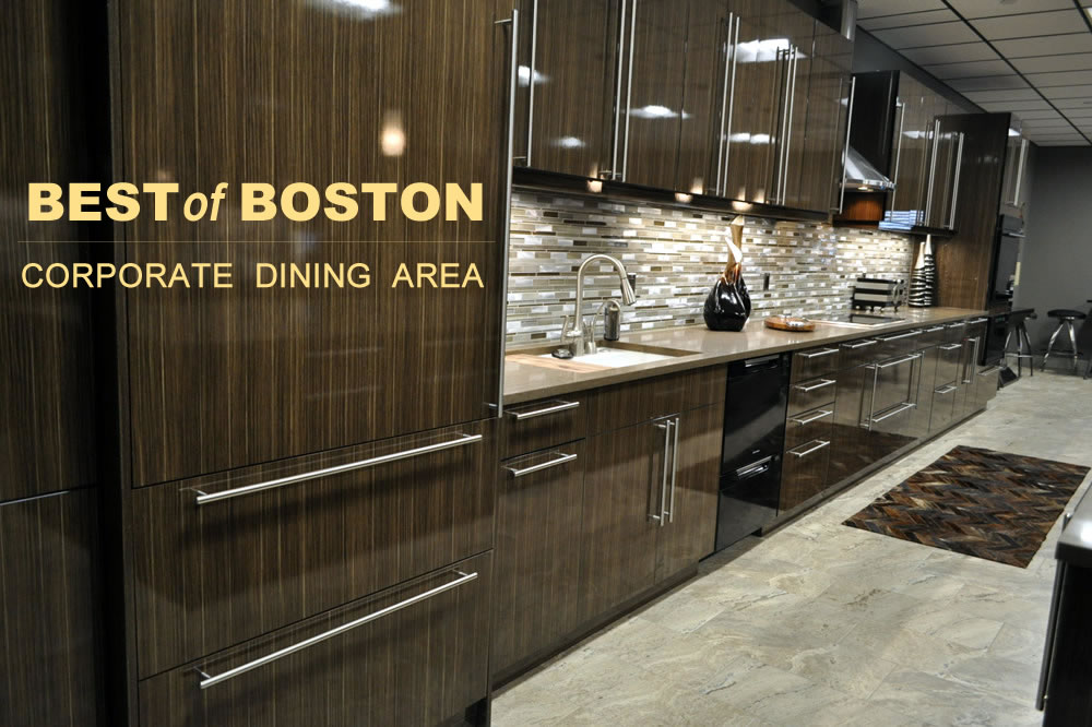 Boston Coporate Dining Kitchen
