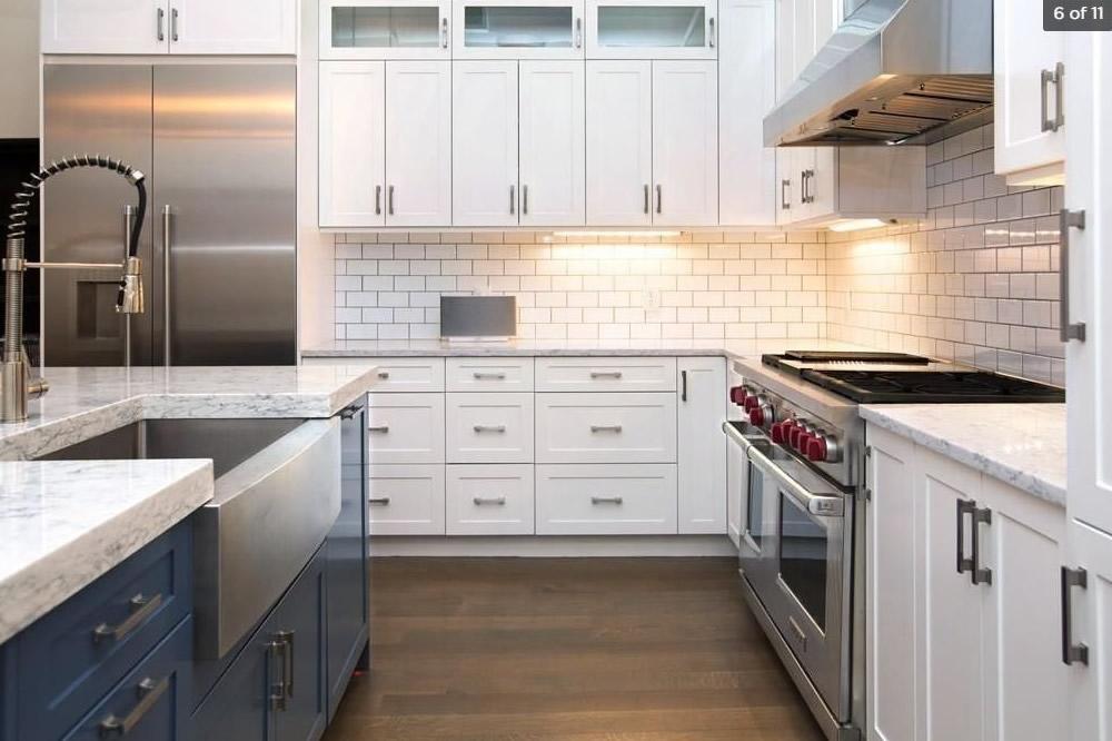 Kitchen Renovation | Devonshire Street Boston Cabinets